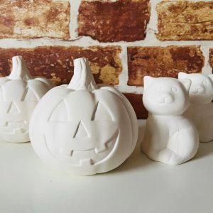 Paint-Your-Own Halloween Range